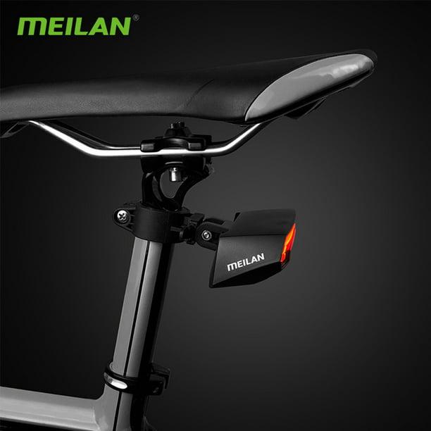 Meilan X5 Bicycle Rear Light Bike Remote Wireless Light Turn Signal LED Beam USB