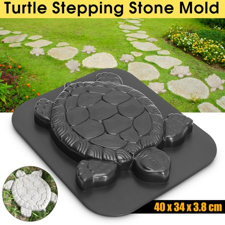 Durable Turtle Stepping Stone Mold Concrete Cement Mould ABS ...