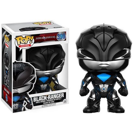 Funko POP Movies: Power Rangers Black Ranger Toy Figure Ford Ranger Pop