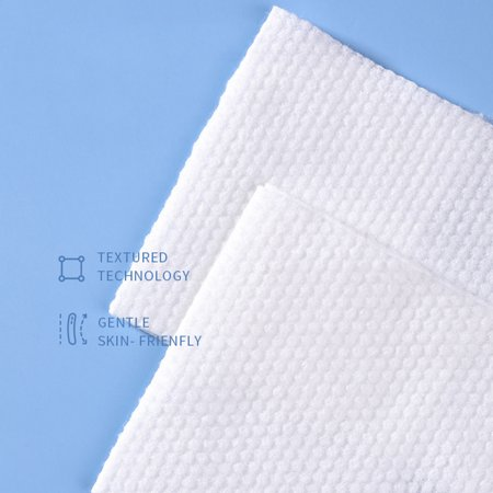 Disposable Face Towel Cotton Fabric Facial Tissue One-Time Makeup Wipes Pads Cleansing Roll Paper Tissue - image 7 of 9