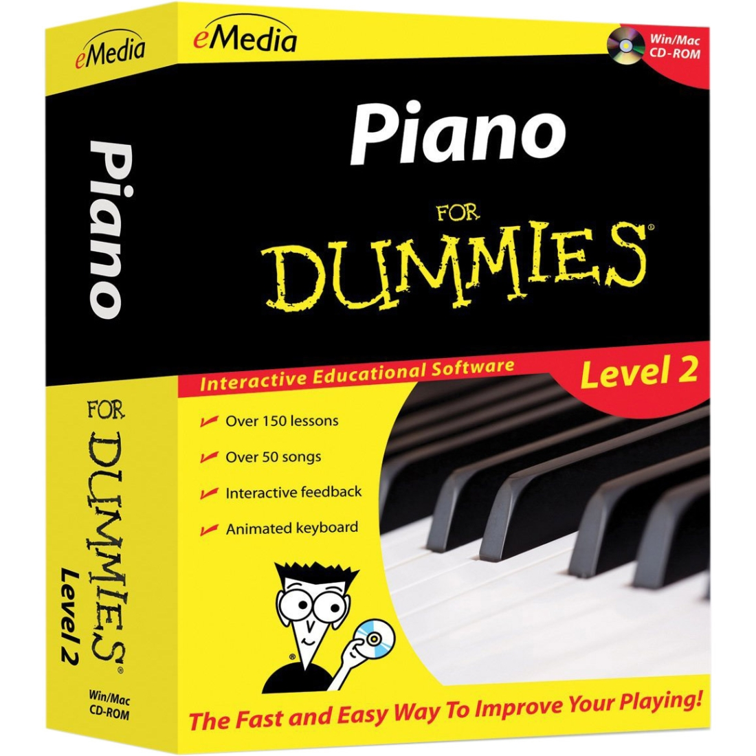 Emedia Music Piano For Dummies Level 2 - Music Training Course - Cd (fd09108) FD09108