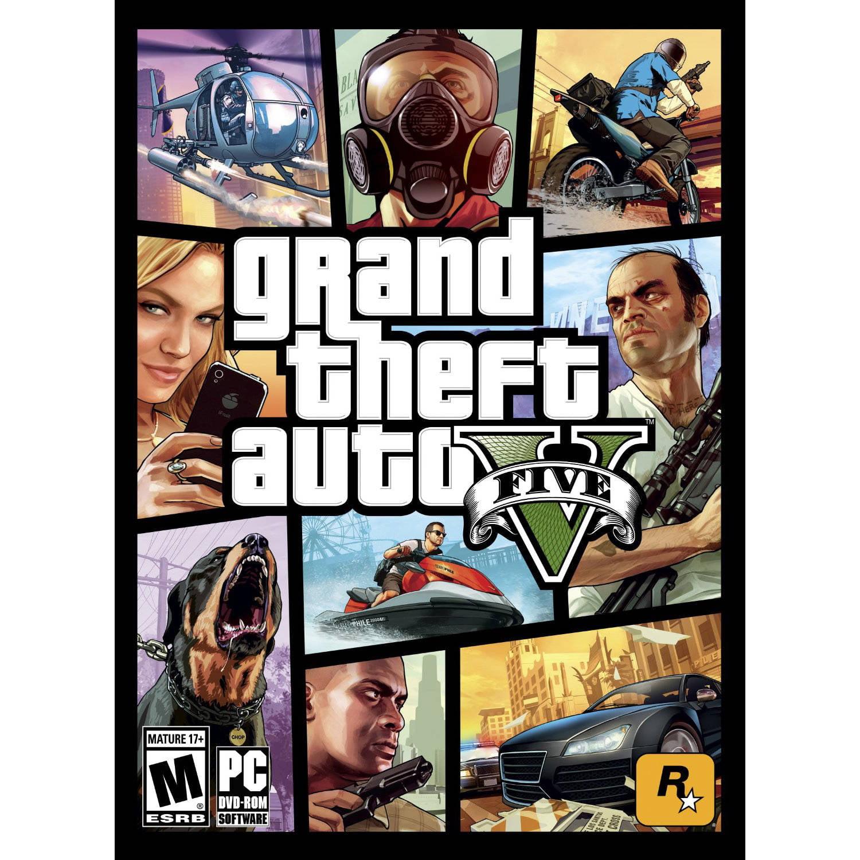 Grand Theft Auto V (Digital Code)