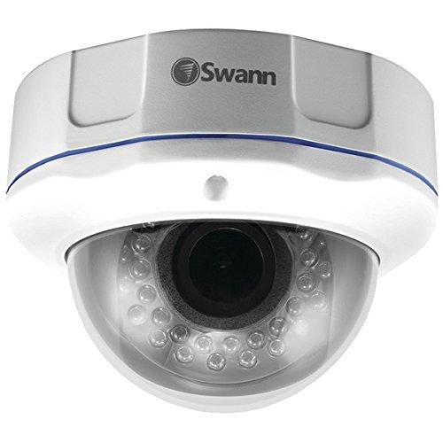 Swann Pro-981 Surveillance Camera - Color, Monochrome - 98.43 Ft - 2.80 Mm - 12 Mm - 4.3x Optical - Cable - Dome, Wall Mount, Ceiling Mount (swpro-981cam-us)