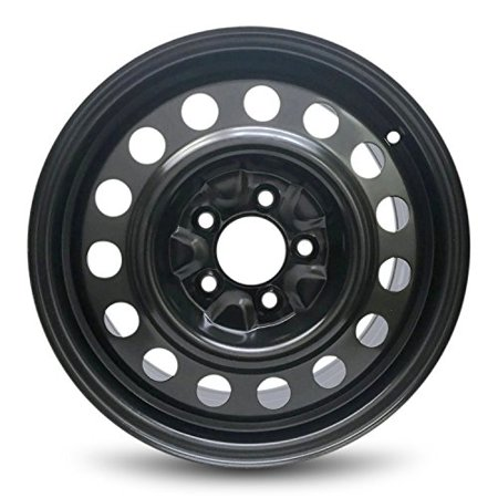 "Road Ready Replacement 16"" Black Steel Wheel Rim 2011-2017 Hyundai Elantra"