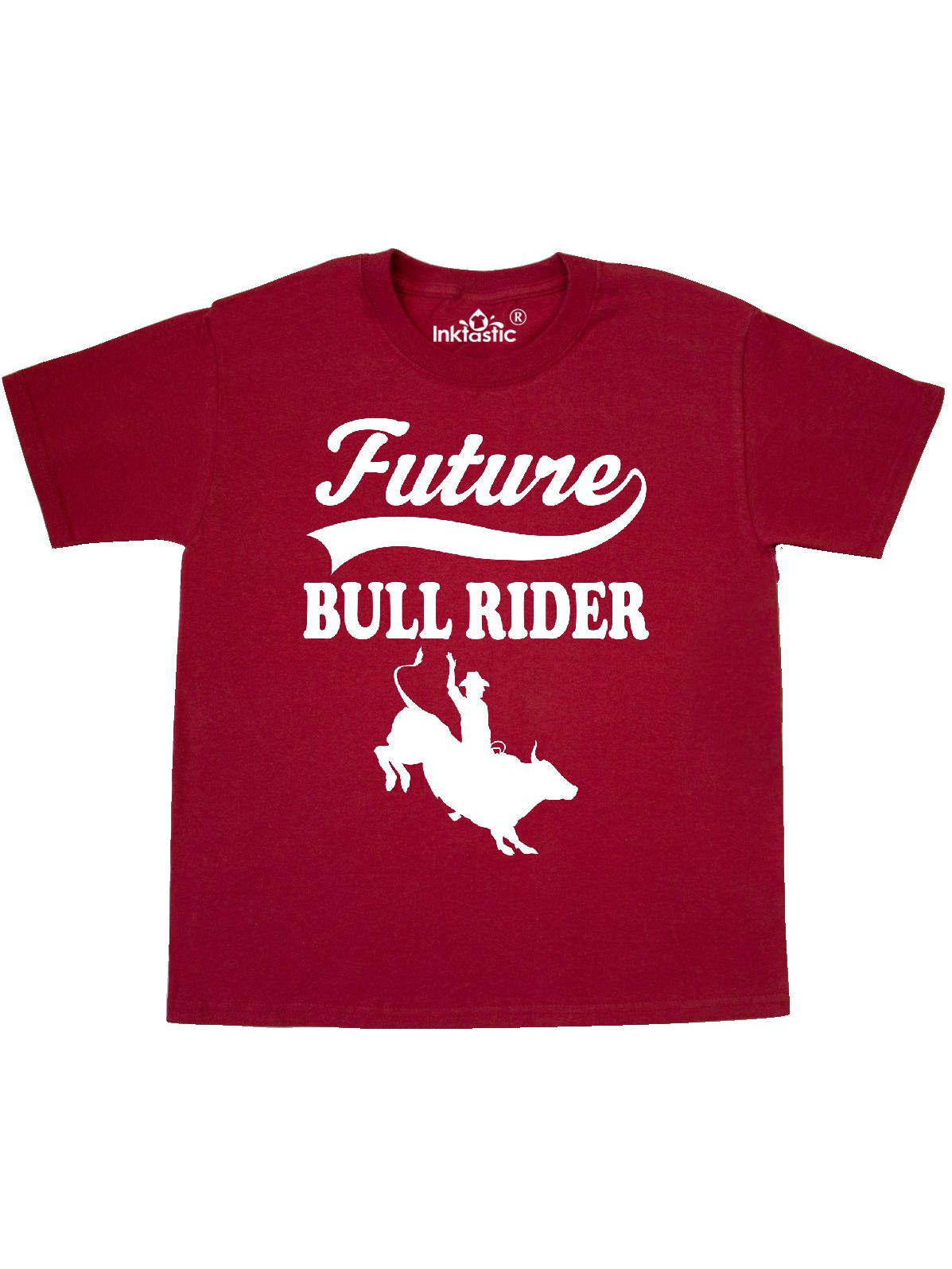 Future Bull Rider Rodeo Riding Youth T-Shirt