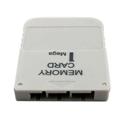 1MB Memory Card For Playstation 1 PS1 PSX Game 1 MB by