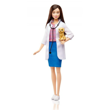 Barbie Careers Pet Vet Doctor Doll - Barbie Cheerleading