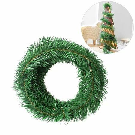 Holiday Time 18ft Christmas Pine Garland Christmas Tree Decoration ()