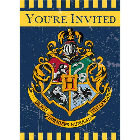 Paint Party Invitations (Harry Potter Invitations, 8ct)