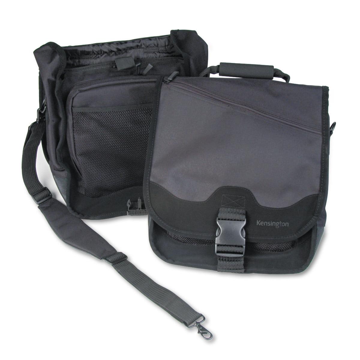 Kensington SaddleBag Laptop Carrying Case, 14-1 4 x 6-1 2 x 16-1 2, Black by Kensington