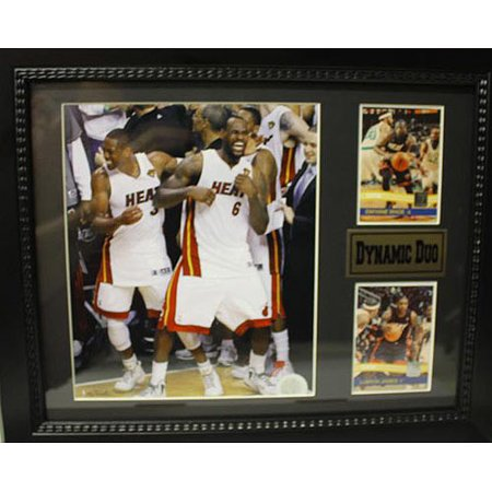 NBA Miami Heat Dynamic Duo Deluxe Frame, 11x14 Deluxe Frame Miami Heat
