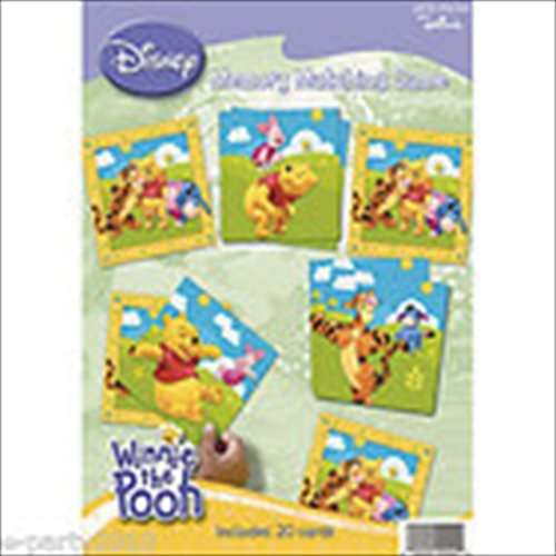 Winnie The Pooh and Friends Memory Matching Game (20cards)