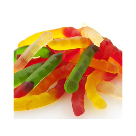 Gummi Worms Fruit Flavor bulk gummy candy 2 pounds](Gummy Shark Candy)