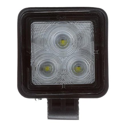 Grote Industries BZ601-5 Work Light - LED Work Light Square; Polycarbonate Lens; Black Powder Coated Die Cast Aluminum Housing; Stainless Steel Swivel Bracket; 775 Raw Lumens; 9- 32 Volts; Hardwired - image 1 de 1