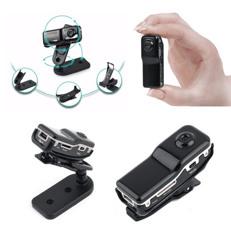 Mini DVR Wireless Camera with Sound Activated Recording (Indoor Camera Hidden)