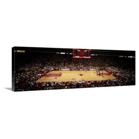 N/a Wall Support Kit (Great BIG Canvas NBA Finals Bulls vs Suns Chicago Stadium Chicago Illinois Wall Art )