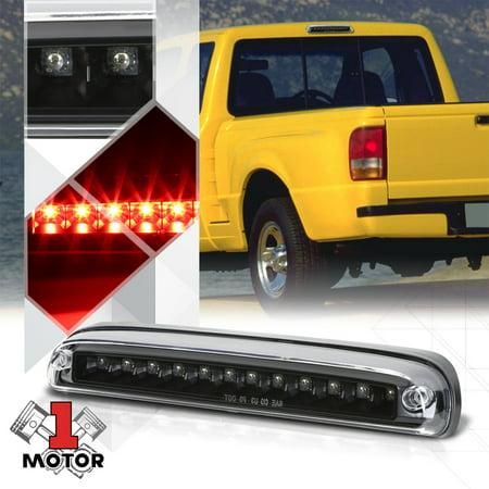 Black Clear LED Third [3rd] Brake Light for 93-16 Ranger/B2300/Ford Super Duty 94 95 96 97 98 99 00 01 02 03 04 05 06 07 08 09 10 11