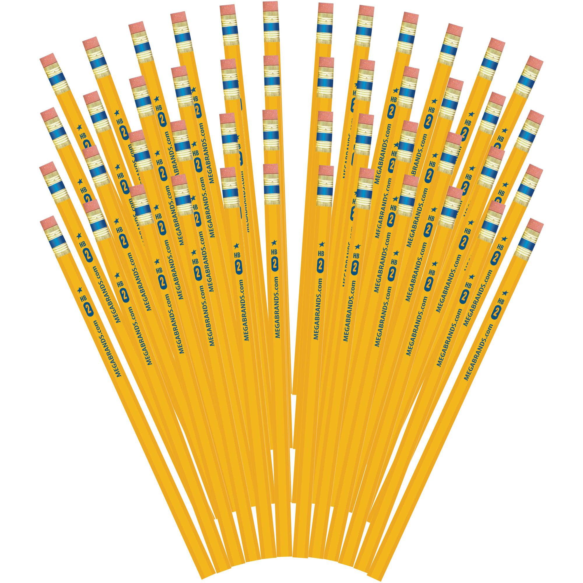 Write Dudes Gold U.S.A. Premium Wood #2 Pencils, 48-Count