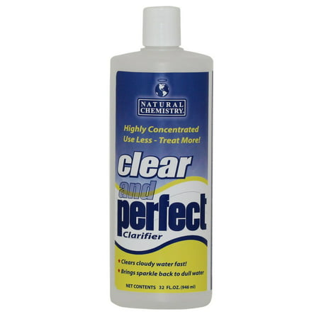 Natural Chemistry 03500 Clear & Perfect Swimming Pool Water Clarifier - 32 oz (Natural Chemistry Pool Perfect)