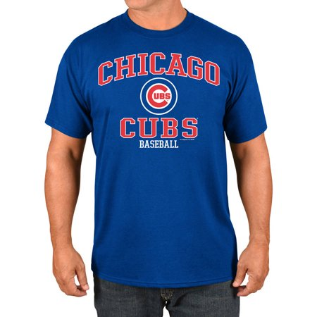 Mlb Chicago Cubs Tall Mens Basic Tee