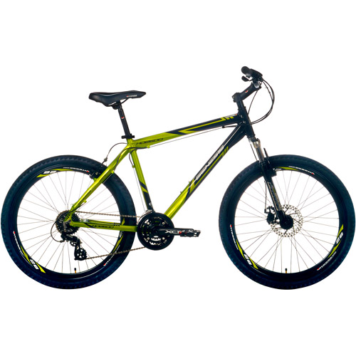 "26"" Genesis, HD2600, Mountain Bike, Front Suspension, Men's Bike, Green"