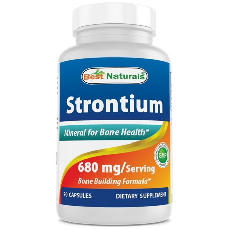 Best Naturals Strontium Bone Building Formula 680mg/serving 90