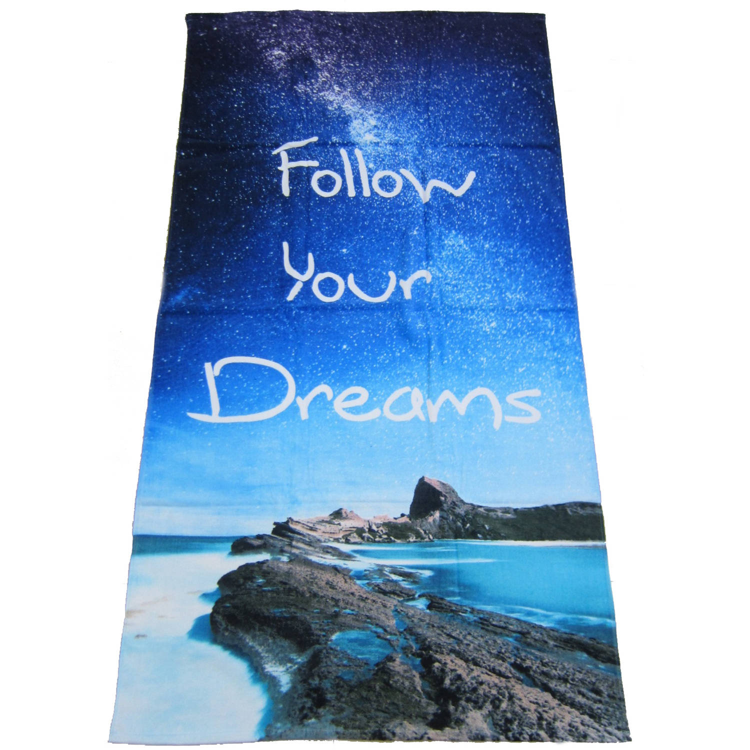 oversized beach towels mainstays oversized towel follow your dreams 30340