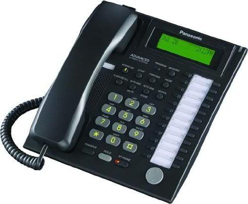 Panasonic KX-T7736B 24 Button Advanced Hybrid Speaker Phone by