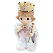 Precious Moments 115919 Girls Rule - Girl with Crown and Septer Figurine
