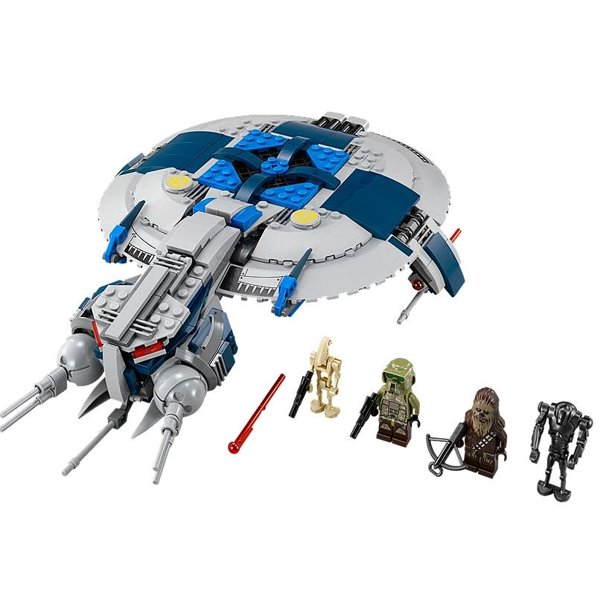 Lego Star Wars Revenge Of The Sith Droid Gunship W 4 Minifigures 75042 Walmart Com Walmart Com
