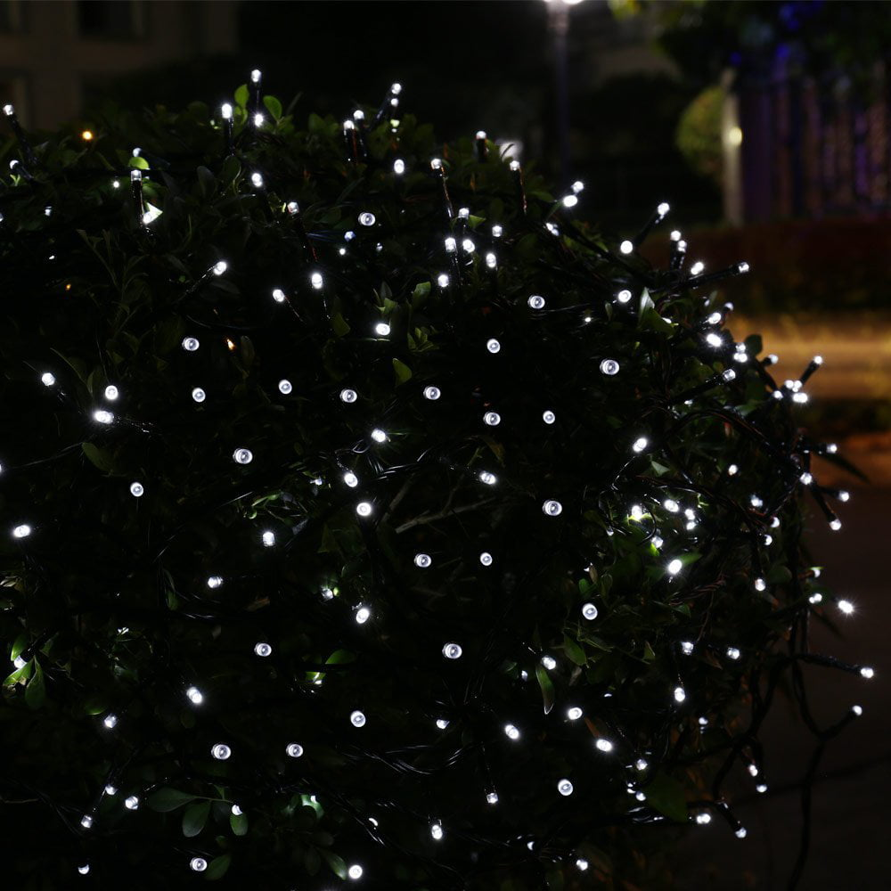 qedertek solar christmas lights led decoration string lights39ft 100 led outdoor waterproof solar fairy string tree lights for outdoorindoor gardenpatio
