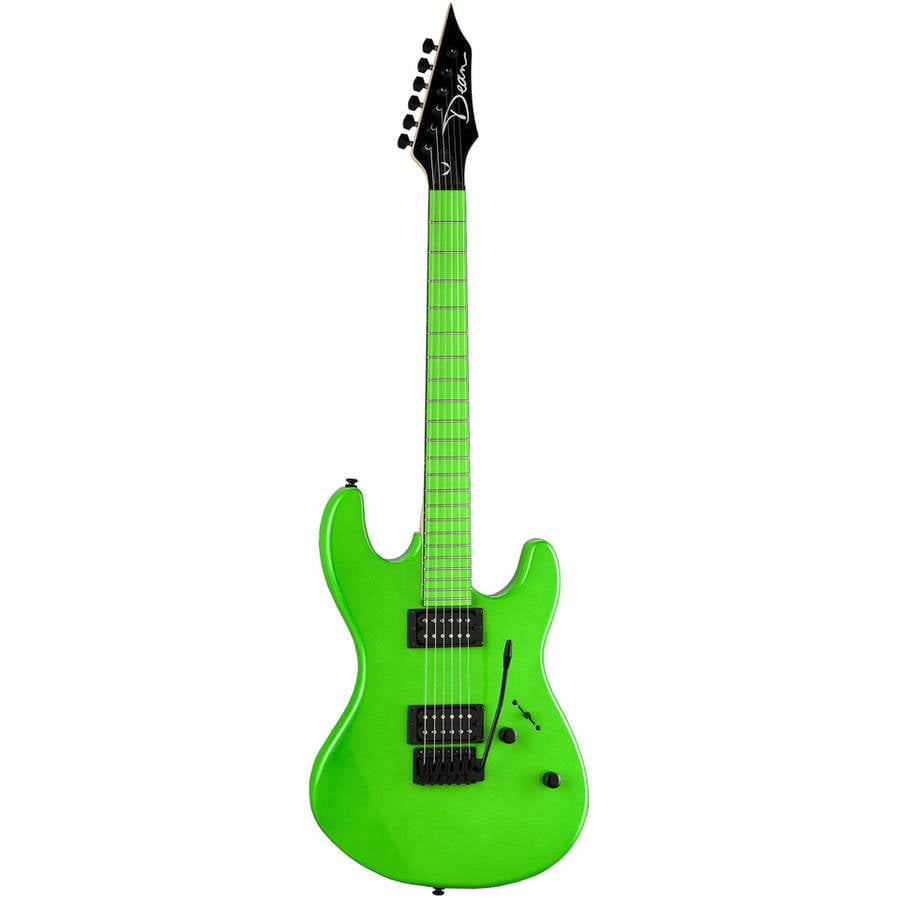 Dean Custom Zone 2 HB Electric Guitar Florescent Green by Dean