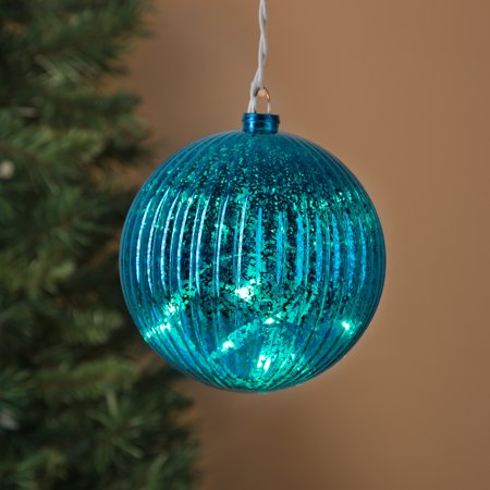 Light Up Indoor/Outdoor Mercury Glass Ball Large Giant ...