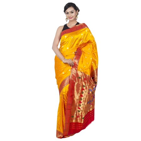 LAMINATED POSTER Paithani Saree Paithani Silk Wedding Saree Poster 24x16 Adhesive Decal (Wedding Decals)