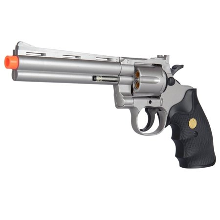 G36B Spring Airsoft Gun - 6 SHOT 357 MAGNUM REVOLVER w/ Shells + 6mm BBs - (Ruger Redhawk 8 Shot 357 Magnum For Sale)