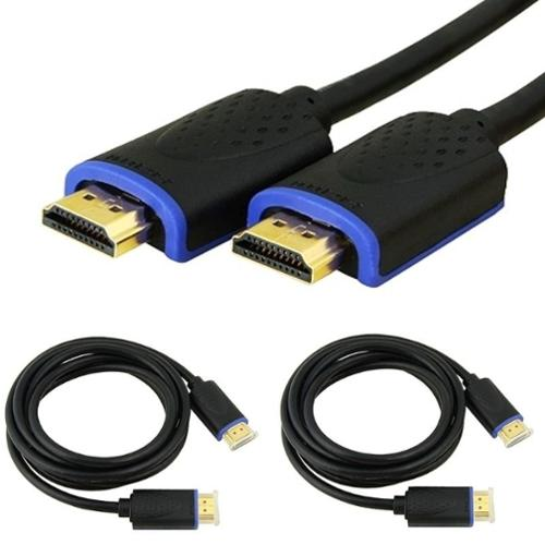 Insten 2-Pack 6' Gold Plated High-Speed HDMI Cable with Ethernet (Premium Guide)