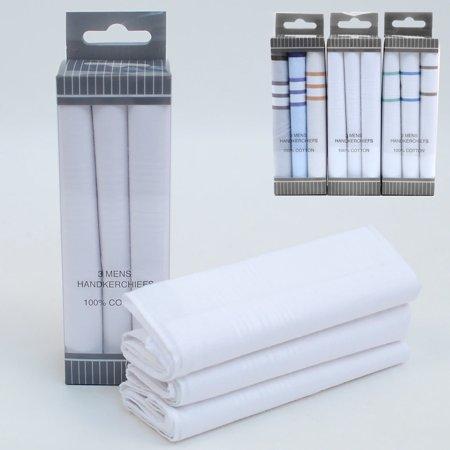 3 X Mens Plaid Handkerchief Cloth Hanky Pocket Square Hankie Wedding Suit