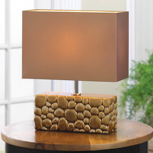 Zingz & Thingz River Rock 13.38'' Table Lamp