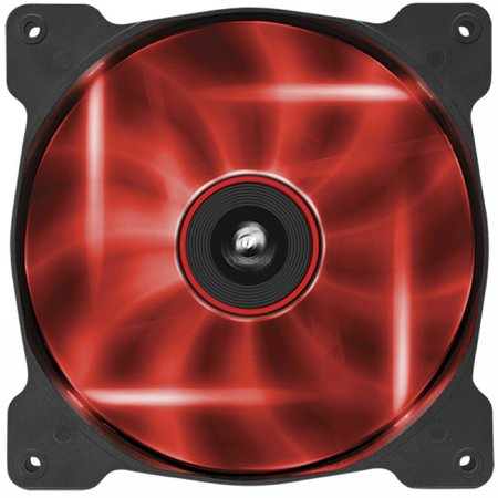 Corsair Air Series AF140 LED Quiet Edition High Airflow Fan - Red -  CO-9050017-RLED