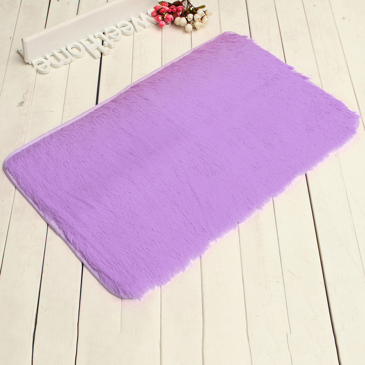 """❤ 32""""x20""""x1.8"""" Multicolors Non-slip Absorbent Soft Thick Plush Bath Mat Bathroom Floor Shower Quick Drying Rubber Luxury Anti-skid Mat Pad Rug 8 Colors ❤"""