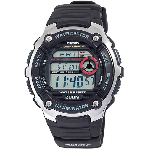 Casio Men's Atomic Timekeeping Sports Watch