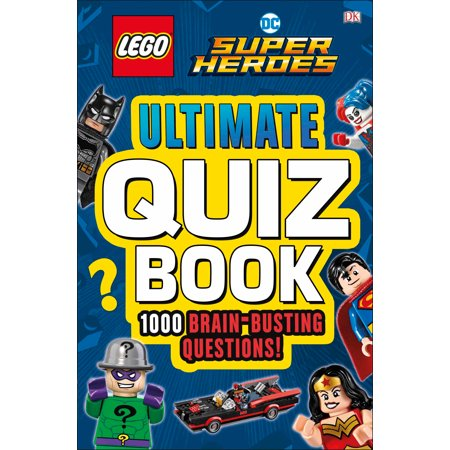 Lego DC Comics Super Heroes Ultimate Quiz Book - Comic Book Superhero