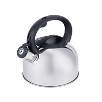 Oneida 2qt Induction Ready Stainless Steel Whistling Tea Kettle