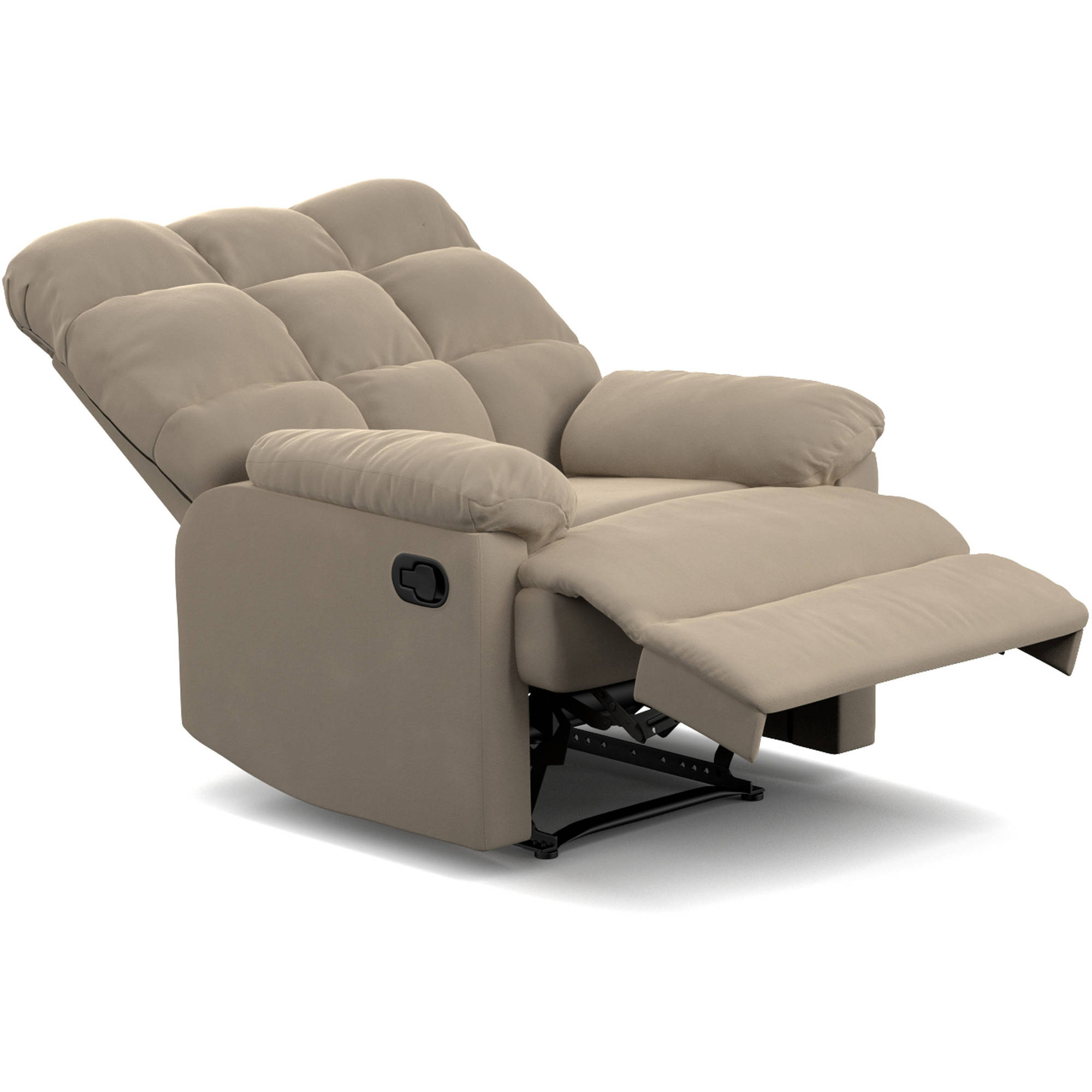 ProLounger Wall Hugger Microfiber Recliner Set of 2 Multiple Colors - Walmart.com  sc 1 st  Walmart : reclining chair bed - islam-shia.org
