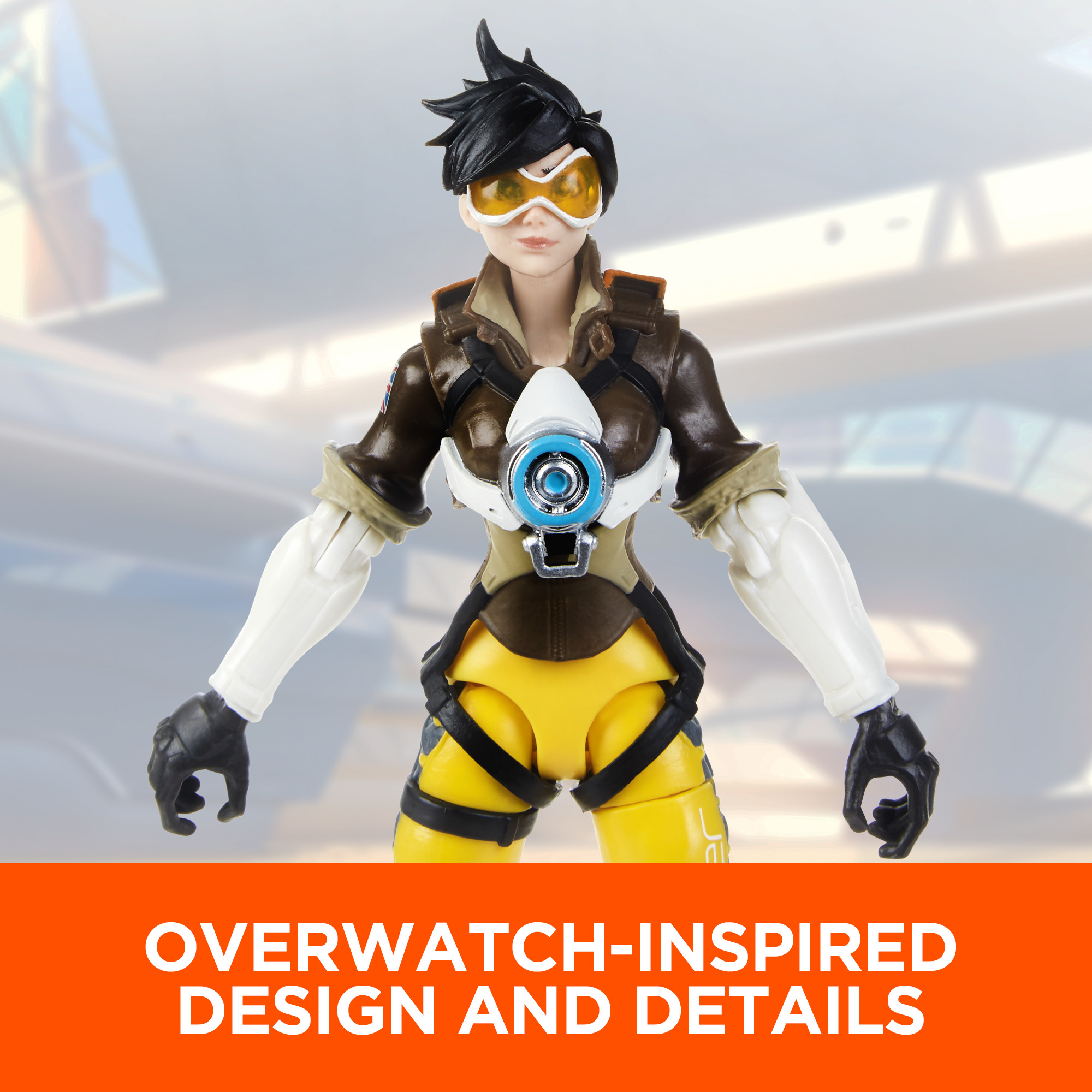 Free Shipping New Overwatch Ultimates Tracer 6-Inch Action Figure