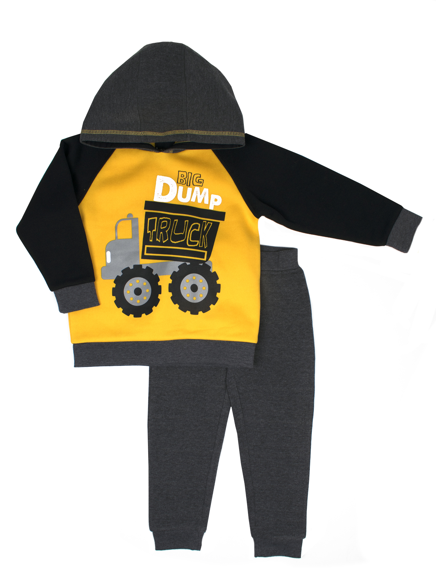 Fleece Pullover Hoodie & Jogger Pants, 2pc Outfit Set (Baby Boys & Toddler Boys)