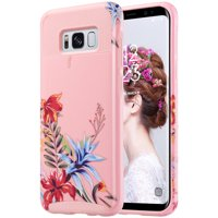 ULAK S8 Case, Galaxy S8 Case, Hybrid Case for Samsung Galaxy S8 2017 Release 2-Piece Dual Layer Style Hard Cover, Will not Fit S8 Plus
