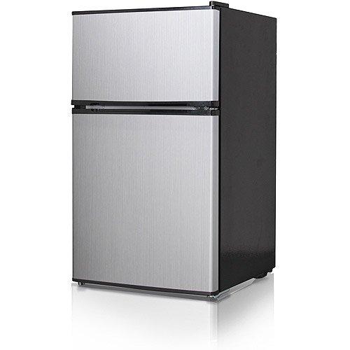 Midea 3.5 Cu Ft Compact Refrigerator And Freezer  Apartment Size Refrigerator Freezer