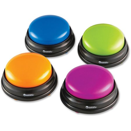 Learning Resources, LRNLER3774, Answer Buzzers Set, 4 / Pack, Multi