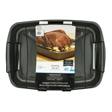 Mainstays 14 Quart Roaster Oven Black With Removable Steel